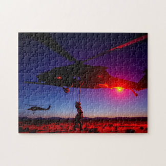 Air Force 24th Special Tactics Squadron Fort Bragg Jigsaw Puzzle