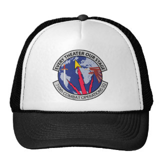 Air Force 710th Combat Operations Squadron Trucker Hat