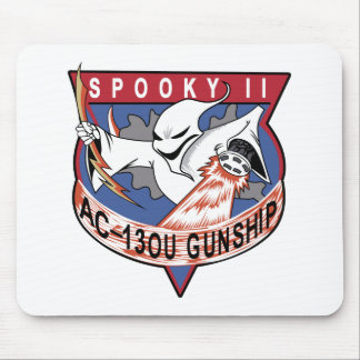 Air Force AC-130U Spooky II OEF OIF Gunship Patch Mouse Pad