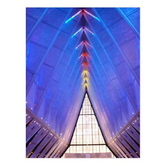 Air Force Academy Chapel 1 Postcard