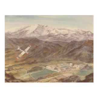 Air Force Academy Colorado Springs Postcard