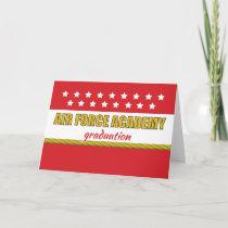 Air Force Academy Graduation Congratulations Stars Card
