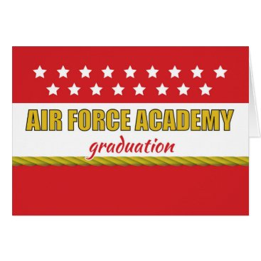 Air Force Academy Graduation Congratulations Stars Card