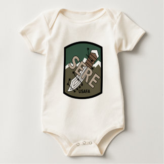 AIR FORCE ACADEMY SERE RETURN WITH HONOR TRAINING BABY BODYSUIT