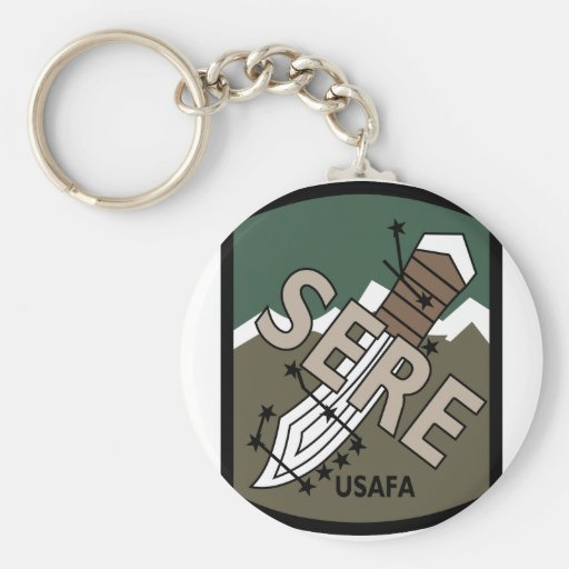 AIR FORCE ACADEMY SERE RETURN WITH HONOR TRAINING KEYCHAIN