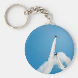 Air Force Aerobatic Team Air Show Formation Keychain