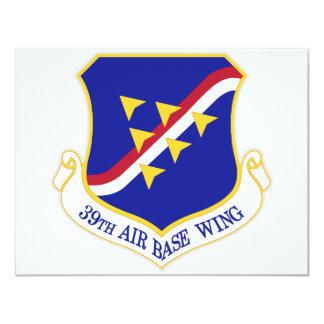 Air Force Air Base Wing Card