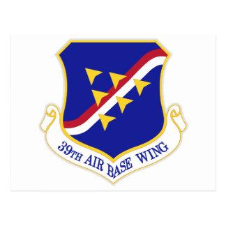 Air Force Air Base Wing Postcard