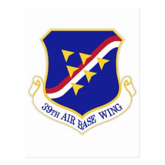 Air Force Air Base Wing Postcard