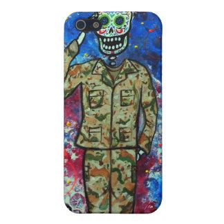 AIR FORCE ARMY DIA DE LOS MUERTOS CASE FOR iPhone SE/5/5s