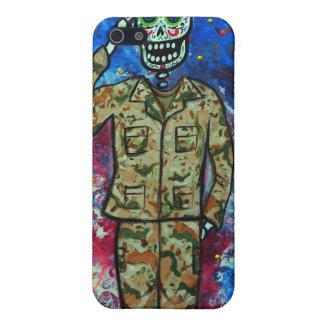 AIR FORCE ARMY DIA DE LOS MUERTOS iPhone SE/5/5s COVER