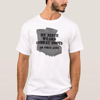 Air Force Aunt CB Niece T-Shirt