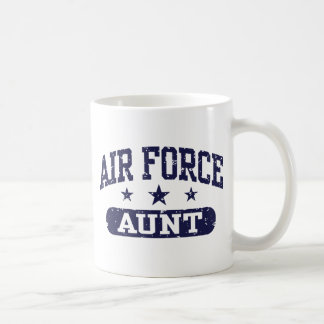 Air Force Aunt Classic White Coffee Mug