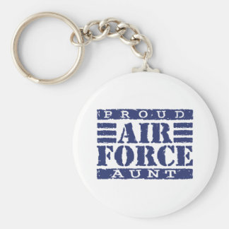 Air Force Aunt Keychain