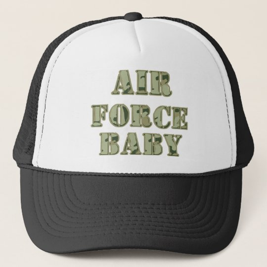 Air force baby trucker hat