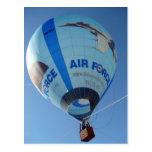 Air Force Balloon Postcard