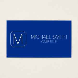 Air Force blue color background Business Card