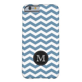 Air Force Blue RAF Chevron. Custom Monogram Barely There iPhone 6 Case