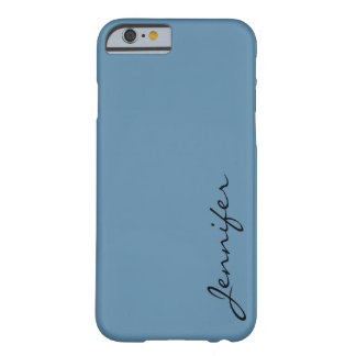Air Force blue (raf) color background Barely There iPhone 6 Case