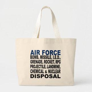 Air Force Bomb etc. Disposal Tote Bags