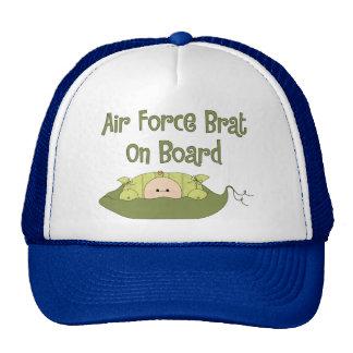 Air Force Brat On Board Caucasian Trucker Hat