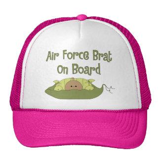 Air Force Brat On Board Hispanic Hats