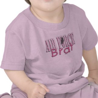 Air Force Brat pink T-shirts