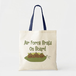 Air Force Brats On Board Triplet (African American Bags
