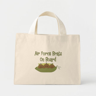 Air Force Brats On Board Triplet (African American Tote Bag