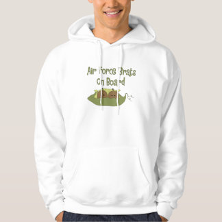 Air Force Brats On Board Twins (African American) Hoodie