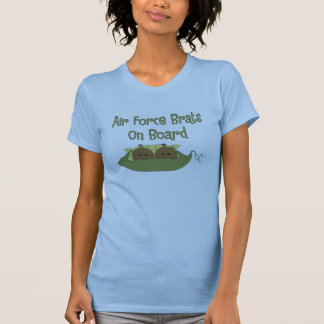 Air Force Brats On Board Twins (African American) T-Shirt