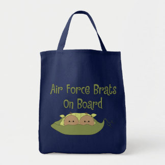 Air Force Brats On Board Twins (Hispanic) Tote Bag