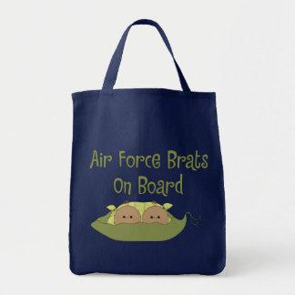 Air Force Brats On Board Twins (Hispanic) Tote Bag