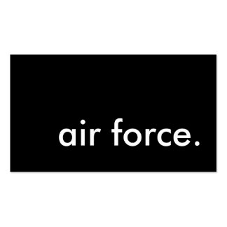 air force. Double-Sided standard business cards (Pack of 100)