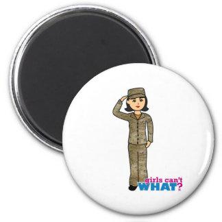 Air Force Camo Black Hair Fridge Magnets