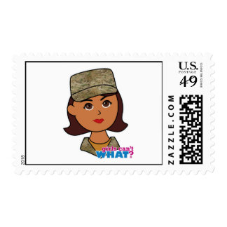 Air Force Camo Head Dark Stamps