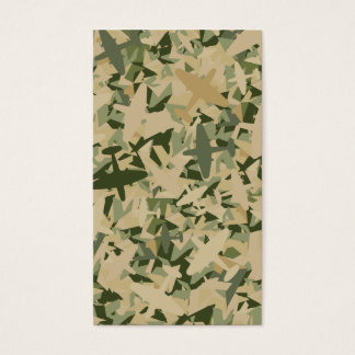 Air Force Camouflage Bookmark Business Card