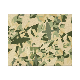 Air Force Camouflage Canvas Print