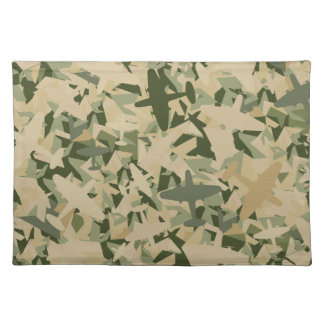 Air Force Camouflage Napkin Cloth Placemat