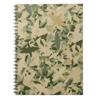 Air Force Camouflage Notebook