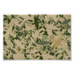 Air Force Camouflage Poster Print