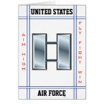 Air Force Captain O-3 Capt Greeting Card