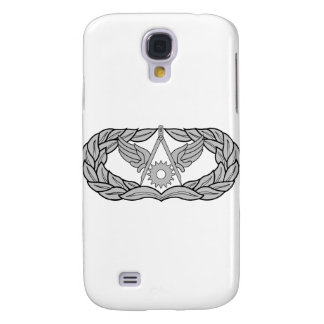 Air Force Civil Engineer Badge - Silver Galaxy S4 Case