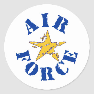 Air Force Classic Round Sticker