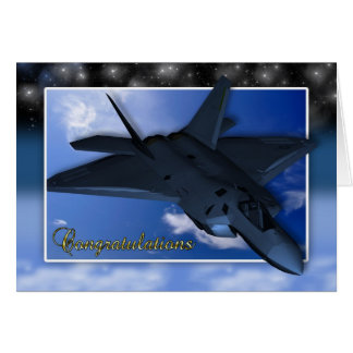 Air Force Commissioning Congratulations Card
