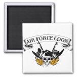 Air Force Cook Fridge Magnet