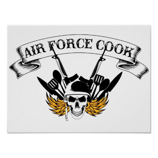 Air Force Cook Posters