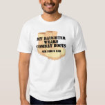 Air Force Dad Daughter DCB T Shirt