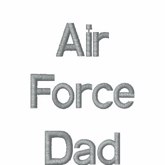 Air Force Dad Embroidered Shirt