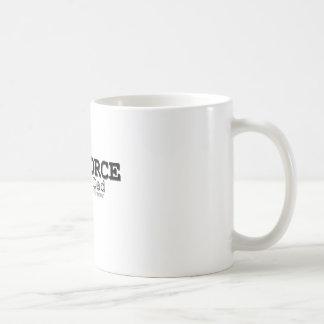 Air Force Dad Home of Brave Coffee Mug